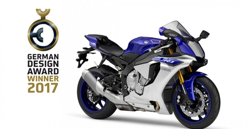German Design Award 2017 Yzf R1